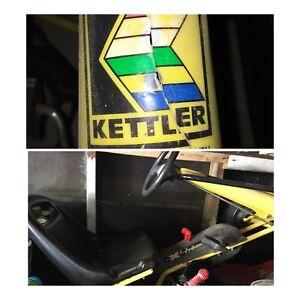 Kettler pedal car go cart