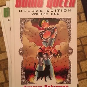 Bomb Queen Deluxe Edition Hardcover Volumes 1-4 comic book lot