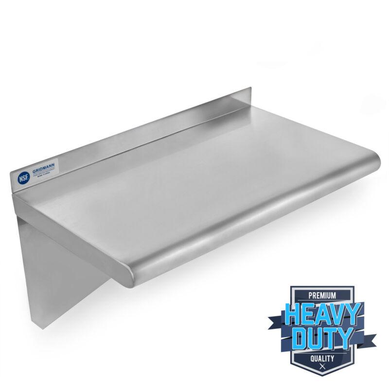 "OPEN BOX - Stainless Steel Kitchen Shelf Restaurant Shelving - 18"" x 24"""