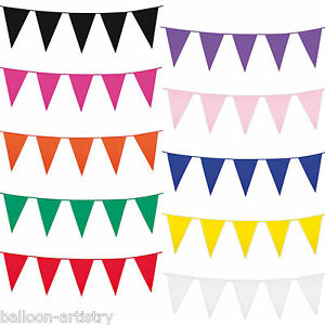 10m-Giant-Colourful-Plastic-Pennant-Banner-Party-Supplies-Bunting-Decoration