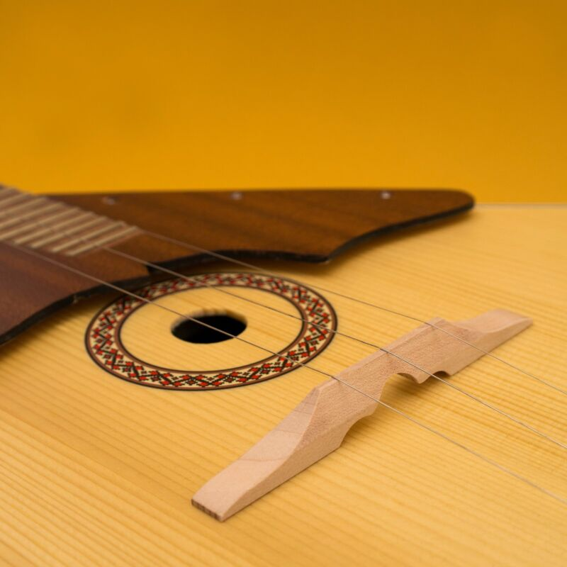 Wooden bridge for Balalaika / Domra, New Original Russian Balalayka, Handmade