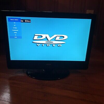 22' RCA LCD HDTV With Attached DVD Player 1080p HDMI USB VGA Hdtv Lcd Dvd Player