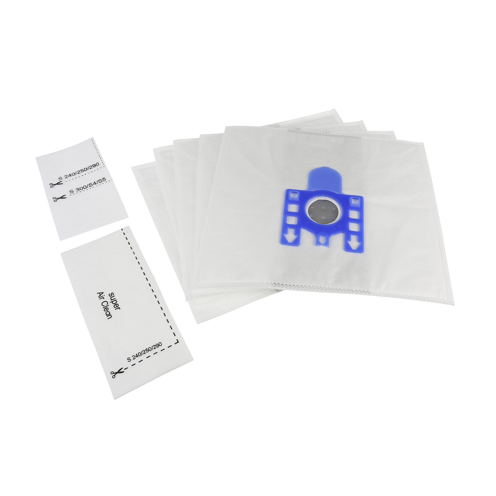 x5 Vacuum Cleaner MicroFibre Dust Bags FJM Type For Miele