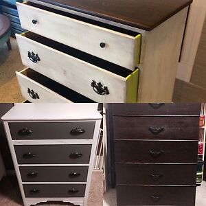 Refinished Antique dressers