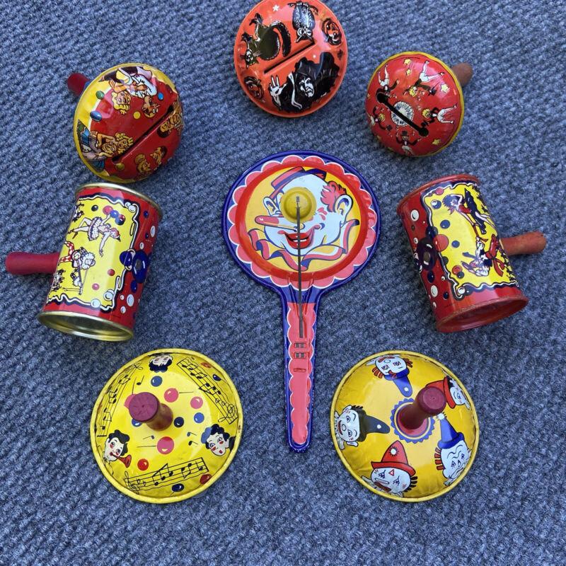 Vintage Kirchhof  Noise Maker Lot of 8, Clown Halloween