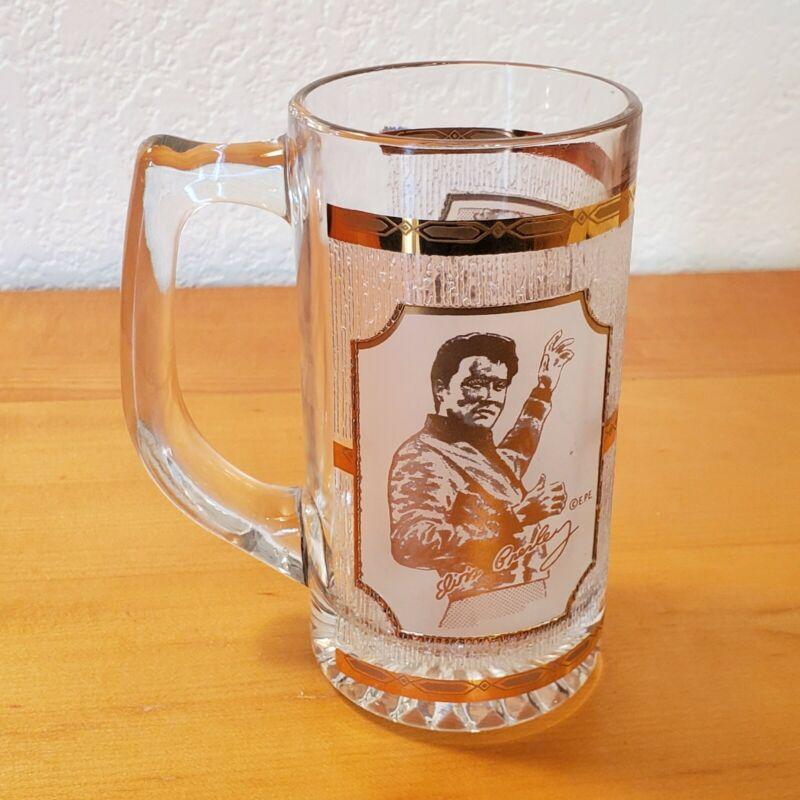 Mug / Glass - ELVIS PRESLEY Graceland 22k Gold Leaf - pre-owned