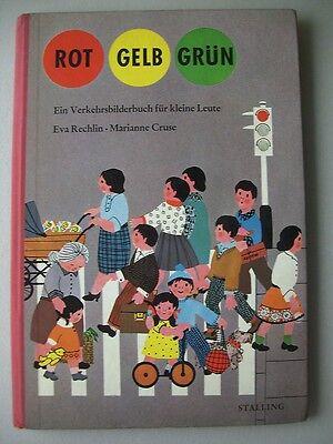 Rot Gelb Grün Verkehrsbilderbuch für kleine Leute 1965 Bilderbuch