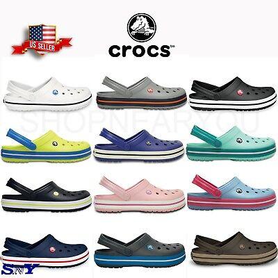 CROCS UNISEX CROCBAND CLOG Slippers Ultralight FOAM Sandals Men's sizing