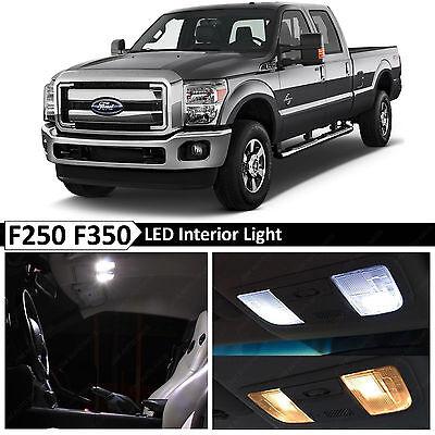 20x White Interior LED Lights Bulb Package Kit for 1999-2016 Ford F250 F350