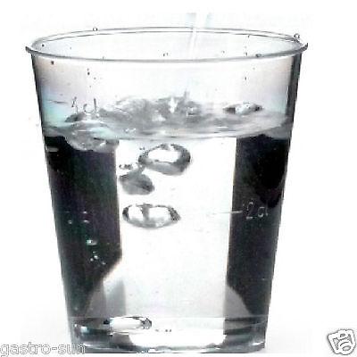 r Schnapsglas Plastik gespritzt Eichstrich 4 cl PS Klar (Klare Plastik-schnapsgläser)