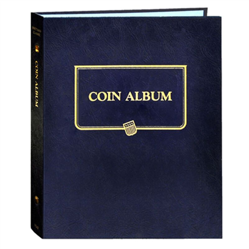 Whitman Classic Blue Universal Coin Album 9140