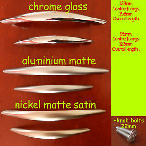 Kitchen-Door-Cupboard-Cabinet-Drawer-Bow-Handles-steel-matte-gloss-satin-C-503-4