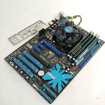 ASROCK QM77 Mini-ITX Motherboard and Core i3-3120M 2.5GHz CPU 8GB RAM Combo