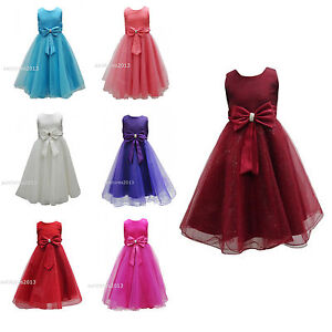 New-Girls-Formal-Wedding-Bridesmaid-Party-Size-Dress-Age-2-3-4-5-6-7-8-9-10-12