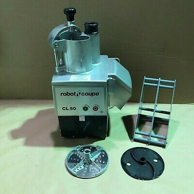 Robot Coupe Cl50e Continuous Feed Food Processor 1.5-hp 120v601-ph