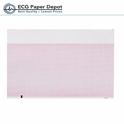 Ecg Ekg Thermal Recording Paper Mortara Eli-250 350 Medical Cardiology 5 Pads