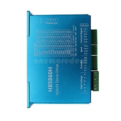 Hbs860h Hybrid Servo Driver 1000rpm 86 Series Closed Loop Stepper Motor Driver D