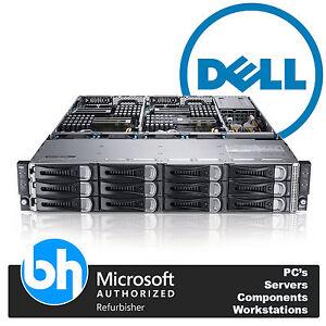 Dell PowerEdge C6100 4 Node 8x Xeon Quad Core 2.13GHz 32GB DDR3 Cloud Server VTd