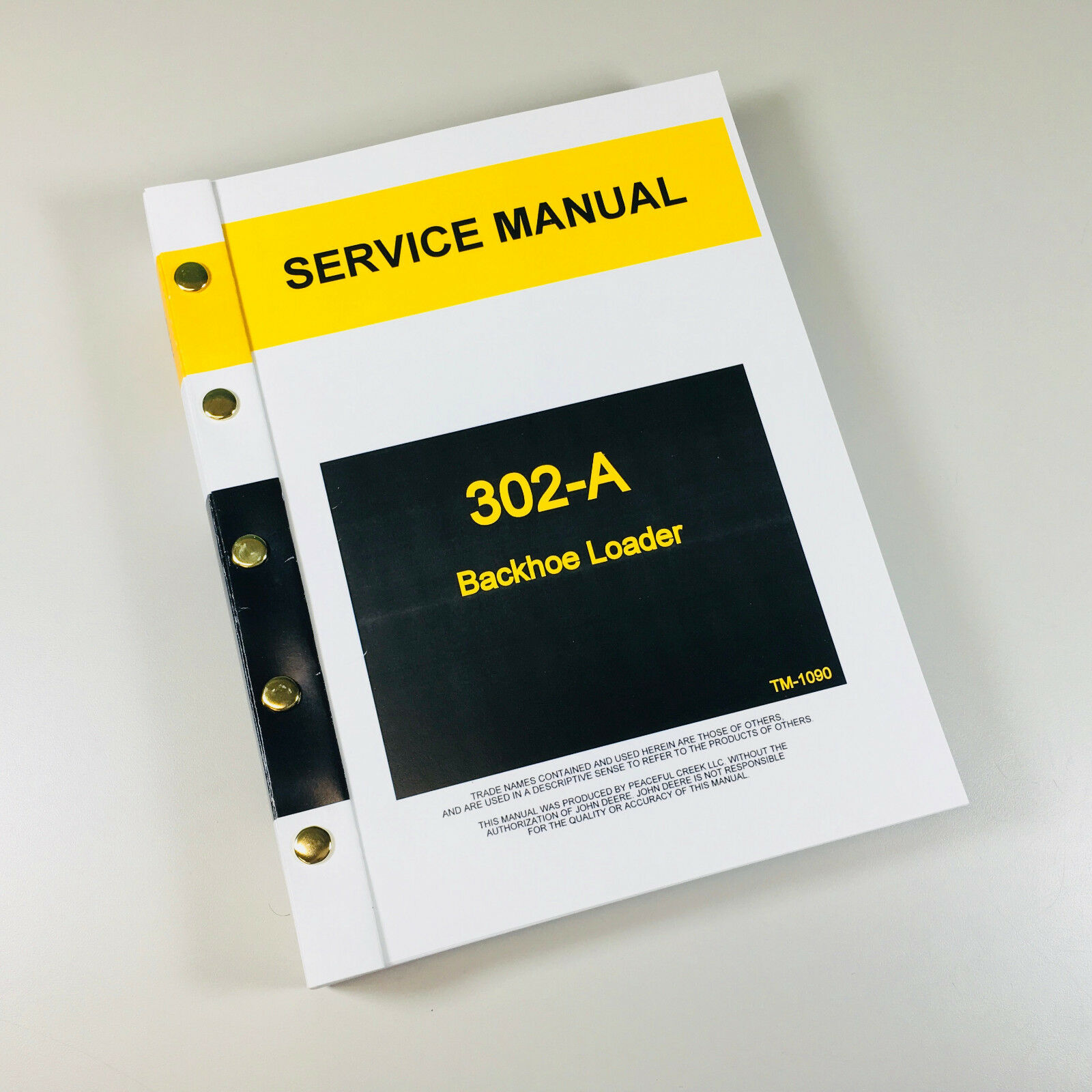service repair manual for john deere 302a loader backhoe technical rh ebay com John Deere 302 Tractor Parts John Deere 302A Hydraulic Diagram