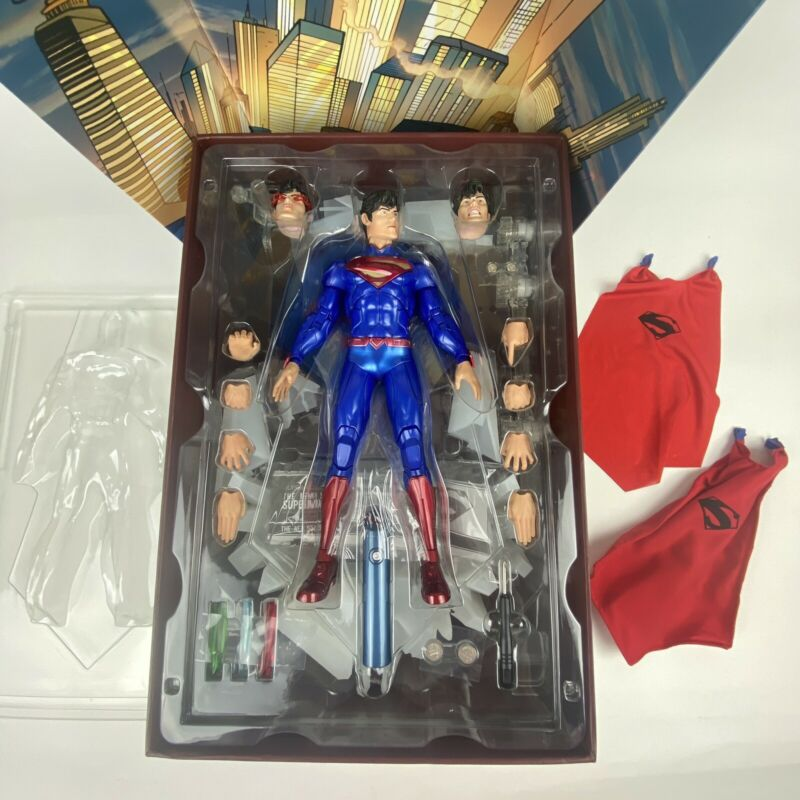 Play Imaginative Super Alloy New 52 Superman 1/6 Figure Exclusive See Video