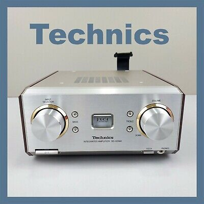 Vintage TECHNICS SE-HD560 Integrated Amplifier Separate Retro HiFi Retro Old