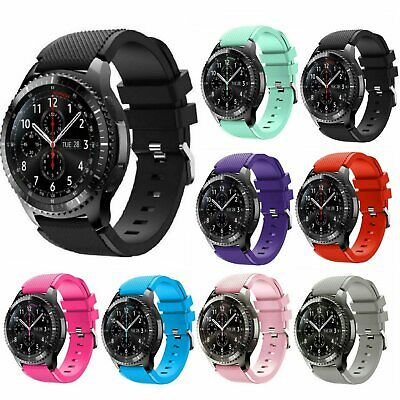 Replacement Silicone Band Strap For Samsung Gear S3 Frontier Watch / S3 Classic Jewelry & Watches