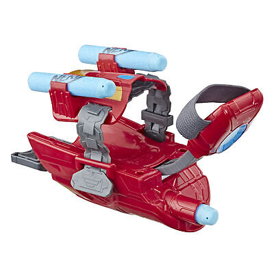 Marvel Avengers Iron Man Blast Repulsor Gauntlet with Nerf Darts