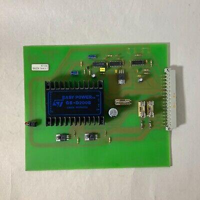 Cp Bourg Pc 108 9421056b 9910-118 Conveyor Valve Driver For Modulen S Collator