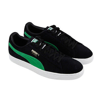 Puma Suede Classic X Xlarge Mens Black Suede Lace Up Sneakers (Mens Suede Sneakers Shoes)