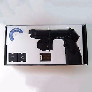 EMS LCD TopGun III 3 FPS Shooting Light Gun Guncon2 Controller Xbox PS2 PS3 PC