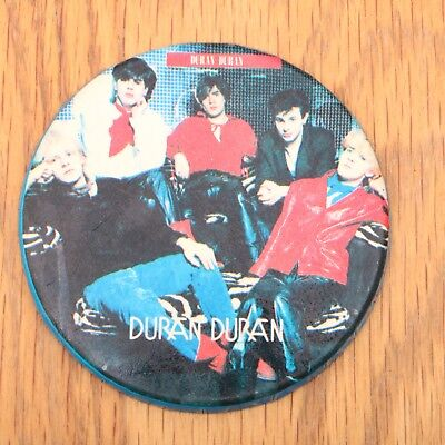 Vintage Duran Duran Band Pin Button