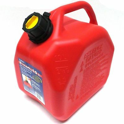 Yamaha/Scepter 10L Litre Petrol/Fuel Can Jerry Can with Spout