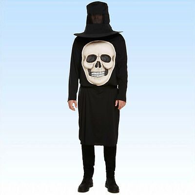 Kostüm riesiger Totenkopf Gr. 48/52 Horrorkostüm Kopflos Halloween Gruselkostüm