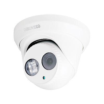 3MP FullHD PoE Dome Netzwerkkamera INKOVIDEO V-109HD IP Überwachungskamera IR