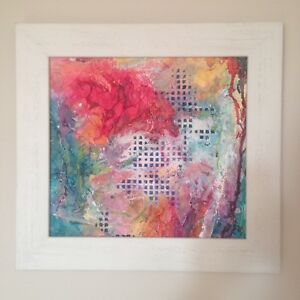 Abstract artwork professionally framed frameworks