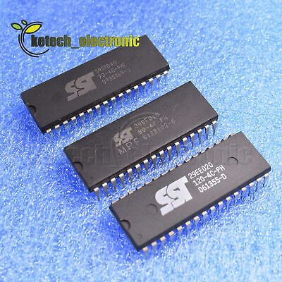 15pcs Sst39sf010-90-4c-ph Sst39sf040-70-4c-sst29ee020-120-4c-ph 32pins Ic L2ke
