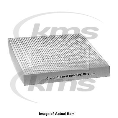 New Genuine BORG & BECK Pollen Cabin Interior Air Filter BFC1036 Top Quality 2yr