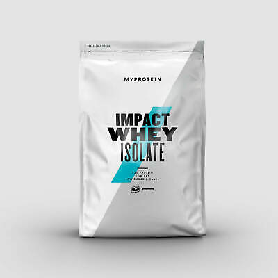 Myprotein Impact Whey Isolate 5kg - All Flavours - RRP: £99.99 - Best
