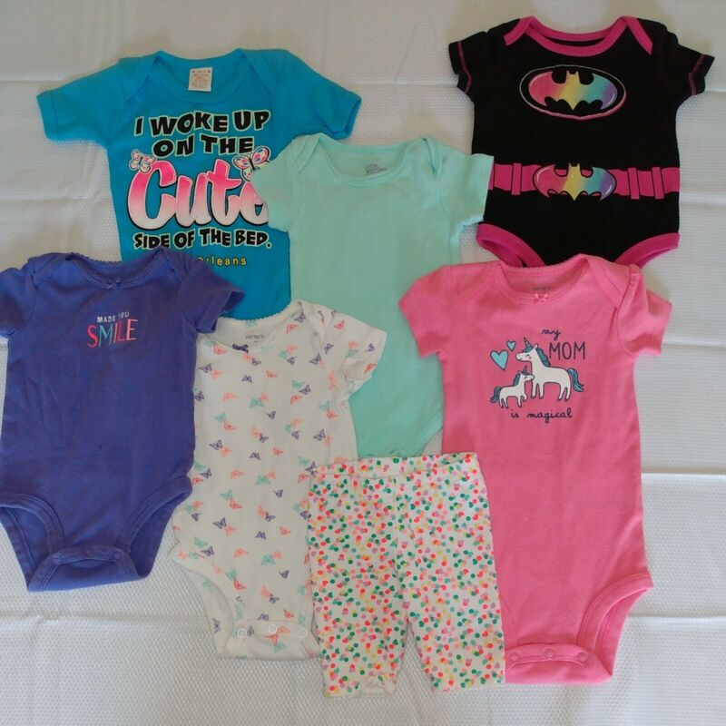 Baby Girl Clothes 3-6 Months Mixed Lot Carter