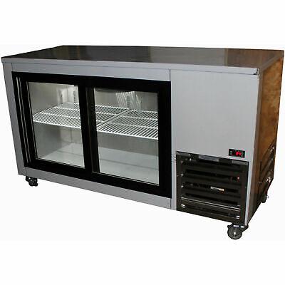 Cooltech Sliding Doors Back Bar Display Cooler 60