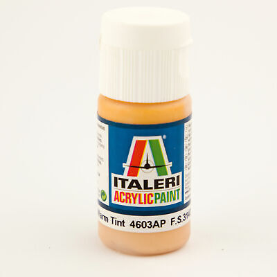 (14,25€/100ml) Italeri IT Acrylfarbe 4603 Hautfarbe warm, 20 ml Airbrush Farbe