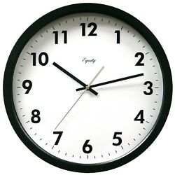 25509 Equity by La Crosse 14 Commercial Analog Wall Clock