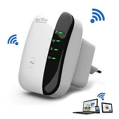 Ultra Wifi Repeater Extender For Better Signal Boost 300mbps Range US