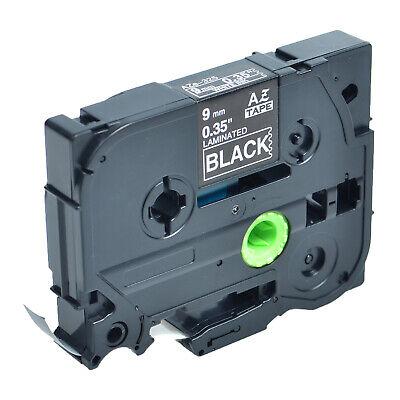 White On Black 9mm Tape For Brother P-touch Tz-325 Tze-325 Pt-d210 Label Maker