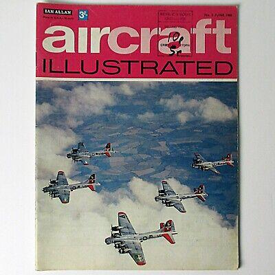 Aircraft Illustrated Magazine - June 1968 Vol. 1 No. 2 - ATC, Hudson, Meacon