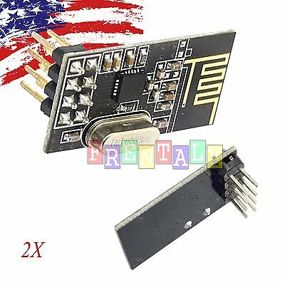 2x 2pcs Arduino Nrf24l01 2.4ghz Wireless Rf Transceiver Module New