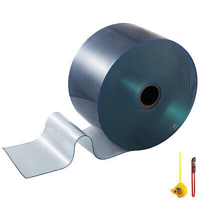 Plastic Curtain Rolls 8in 50ft Commercial Freezer Room Door Strips Halls Pvc