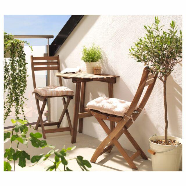 Ikea askholmen  IKEA ASKHOLMEN Garden Patio Outdoor Balcony Table 502.586.67 | eBay