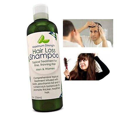 Shampoo Para Crecer El Pelo Alopecia Tratamiento Caida Cabello Champu Calvicie