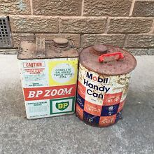 BP Zoom Mobil fuel petrol cans tins Broome 6725 Broome City Preview